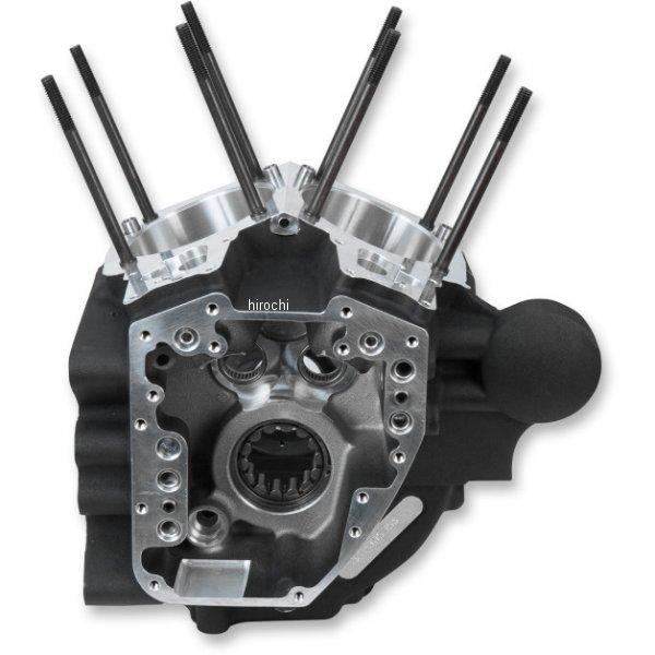 【USA在庫あり】 S&Sサイクル S&S Cycle T2 エンジンケース 標準ボア 06年-17年 ダイナ 黒 0920-0155 JP店