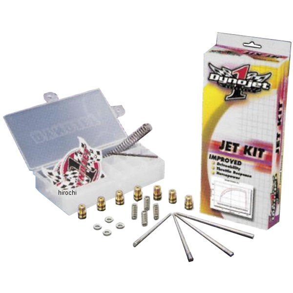 【USA在庫あり】 ダイノジェット Dynojet ジェットキット ステージ1 91年-96年 XR250L 409821 JP店