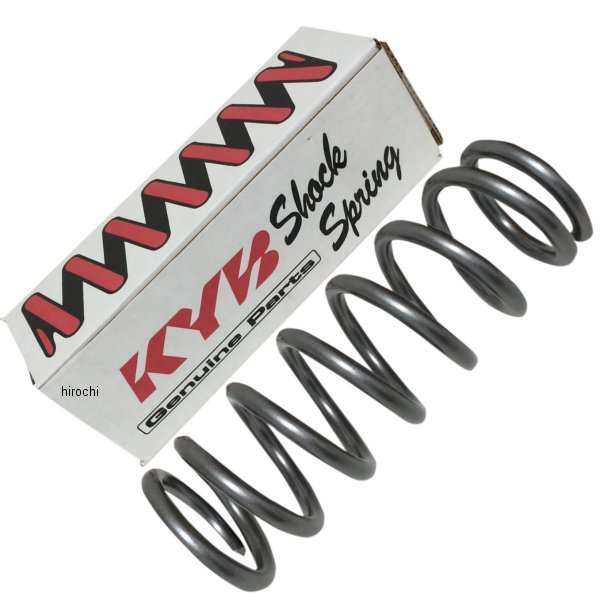 【USA在庫あり】 カヤバ KYB ショック スプリング 265mm 90年-13年 ホンダ、ヤマハ、スズキ 48N/4.9kg/mm 770599 JP店