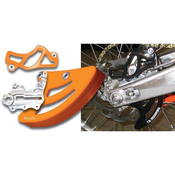 【USA在庫あり】 T.Mデザインワークス リアディスク、キャリパーガードキット 04年-18年 KTM、ハスクバーナ、フサベル オレンジ 972360 JP店