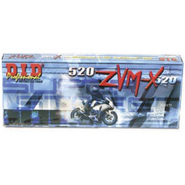 【USA在庫あり】 DID 大同工業 チェーン 520ZVM-X ゴールド 120L カシメ 122632 JP店