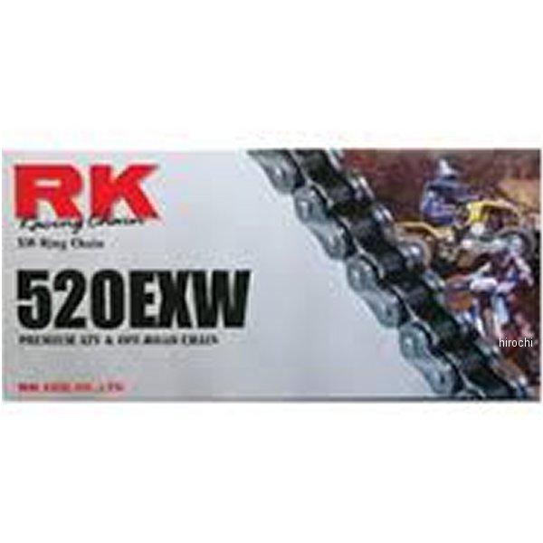 【USA在庫あり】 アールケー RK チェーン 520EXW プロATV オフロードチェーン ナチュラル 96L 187301 JP店