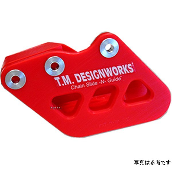 【USA在庫あり】 T.M デザインワークス T.M DESIGNWORKS チェーンガイド リア ファクトリーエディション1 01年-06年 WR250F 黒 971096 JP店