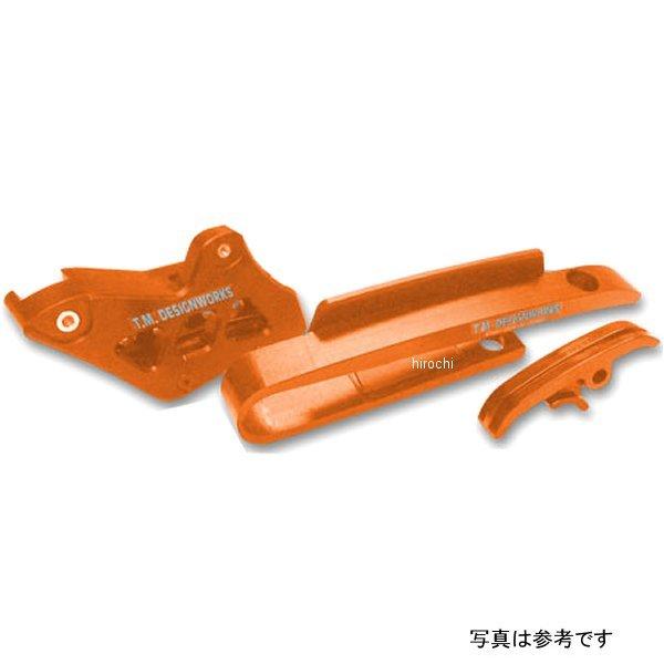 【USA在庫あり】 T.M デザインワークス チェーンスライド、ガイドキット ミニバイク 16年-18年 KTM SX 50 オレンジ 972355 JP店