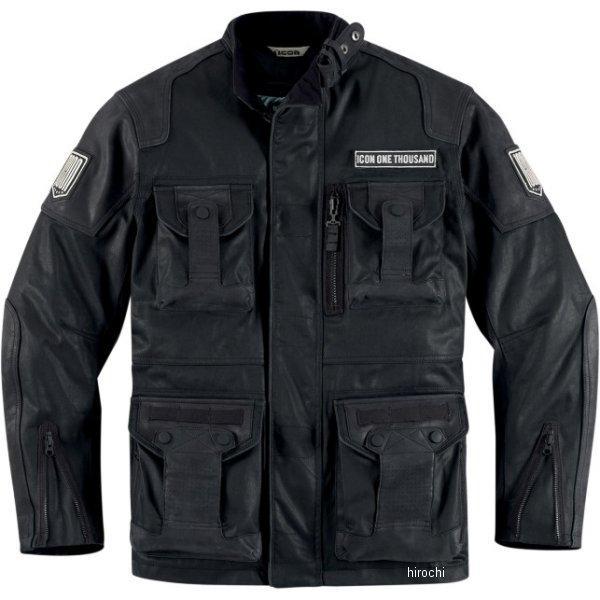 アイコン ICON ジャケット ベルトウェイ 黒 3XLサイズ 2820-2518 JP店