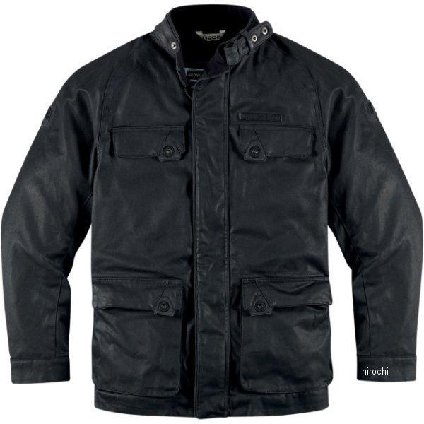 アイコン ICON ジャケット AKORP 黒 2XLサイズ 2820-2554 JP店