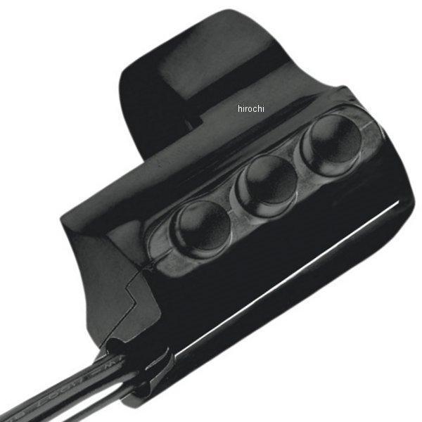 【USA在庫あり】 パフォーマンスマシン スイッチハウジング 3ボタン 右側 黒 PM3067 JP店