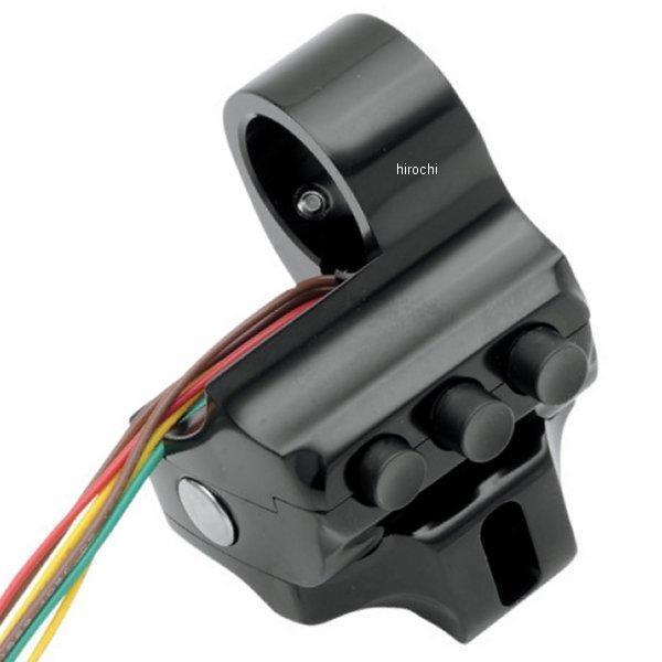 【USA在庫あり】 パフォーマンスマシン スイッチハウジング 4ボタン ブレーキ側 96年-13年 FLH 黒 PM3077 JP店
