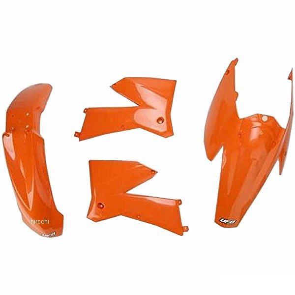【USA在庫あり】 UFO PLAST ユーフォープラスト KTM EXC 外装キット オレンジ 111136 JP店