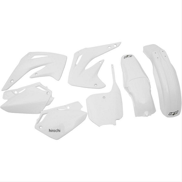 【USA在庫あり】 白 UFO EXC ユーフォープラスト PLAST 外装キット 117428 JP店