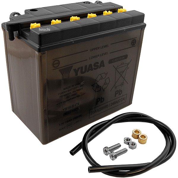 【USA在庫あり】 ユアサ YuMiCRON バッテリー 開放型 12V 86年-90年 FLST/FXST YB16-B-CX 581230 JP店
