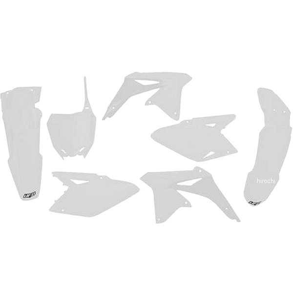【USA在庫あり】 ユーフォープラスト UFO PLAST 外装キット RMZ450 WH 115823 JP店