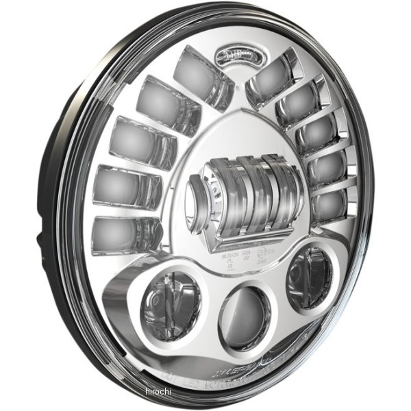 【USA在庫あり】 JWスピーカー J.W. Speaker LED ヘッドライト 7インチ アダプティブ クローム 2001-1367 JP店