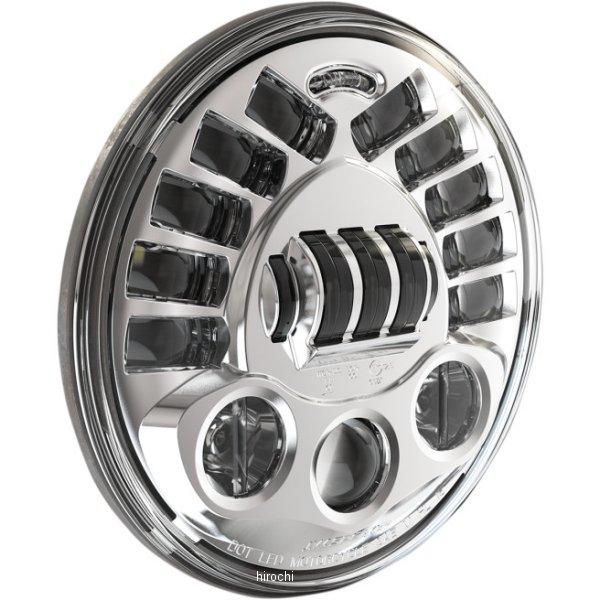 【USA在庫あり】 JWスピーカー J.W. Speaker LED ヘッドライト 7インチ H4 8790M クローム 2001-1419 JP店