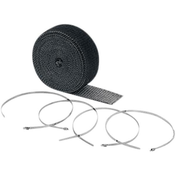 【USA在庫あり】 アクセル ACCEL マフラー用ラップ 51mm x 7.62m 黒 1861-0318 JP店