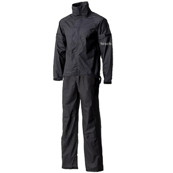 【メーカー在庫あり】 山城 モーターサムライ Motor Samurai ウルトラライトレインスーツ 黒 XLサイズ MSR01BK/XL JP店