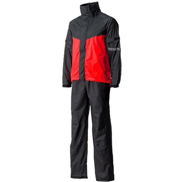 【メーカー在庫あり】 山城 モーターサムライ Motor Samurai ウルトラライトレインスーツ 赤 XLサイズ MSR01RD/XL JP店