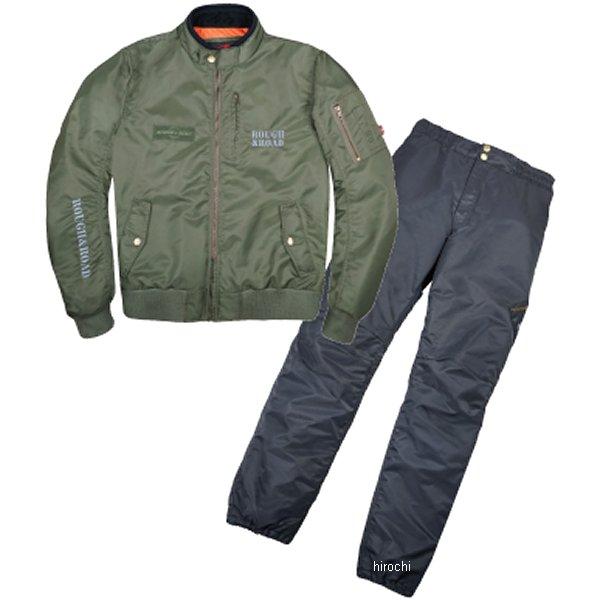 ラフ&ロード 秋冬モデル MA-1R ウインタースーツ FP セージグリーン BLサイズ RR7687SGB3 JP店