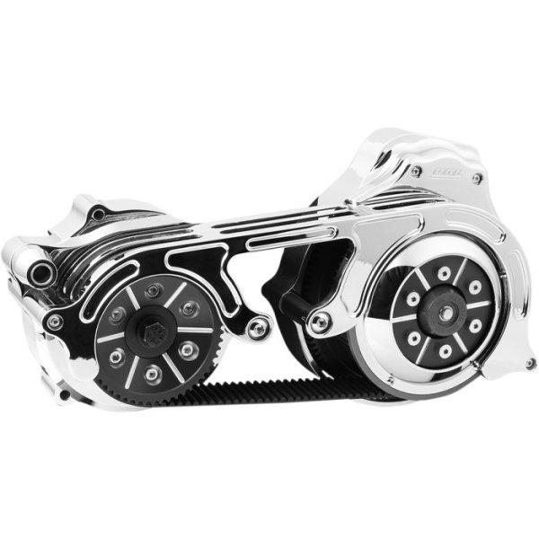 【USA在庫あり】 ベルトドライブ Belt Drives 2インチ オープン ベルトドライブキット 14年-16年 ツーリング 油圧クラッチ クローム 1120-0358 JP店