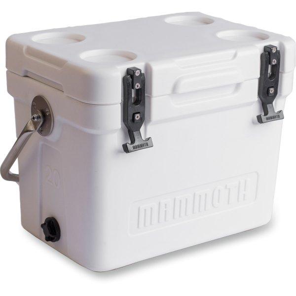 【USA在庫あり】 マンモス クーラー Mammoth Coolers クルーザークーラー MC20 白 9301-0006 JP店