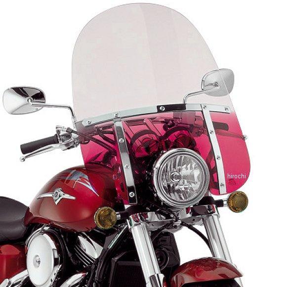 Shades ウインドシールド MEM3412 Memphis 21インチ高/ライト幅7インチ ファット 【USA在庫あり】 赤 JP店 メンフィスシェード