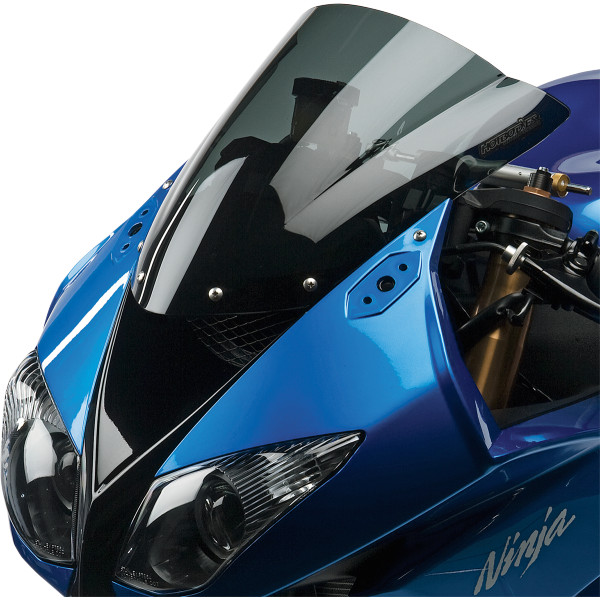 【USA在庫あり】 ホットボディーズ Hotbodies Racing ウインドシールド 速度重視形状 08年-14年 Ninja ZX-10R、ZX-6R スモーク 2301-0858 JP店