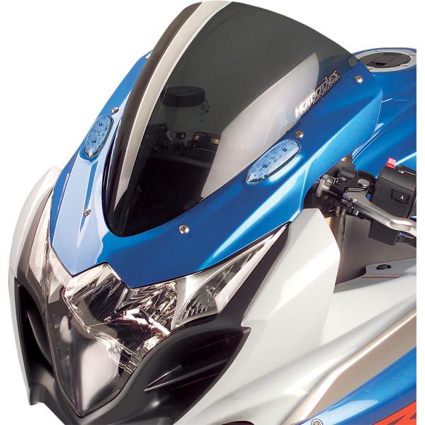 【USA在庫あり】 ホットボディーズ Hotbodies Racing ウインドシールド標準装備交換用 09年-11年 GSX-R1000 スモーク 2301-1064 JP店