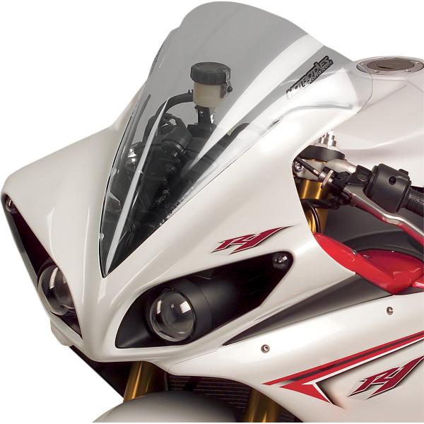 Racing ホットボディーズ 速度重視形状 ウインドシールド クリア Hotbodies 2301-1067 09年-14年 JP店 【USA在庫あり】 YZF-R1