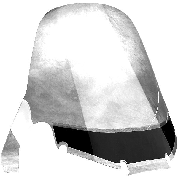 【USA在庫あり】 スリップ ストリーマー Slip Streamer ウインドシールド WRAP 25インチ高 84年-87年 ゴールドウィング GL1200 クリア DS-710298A JP店