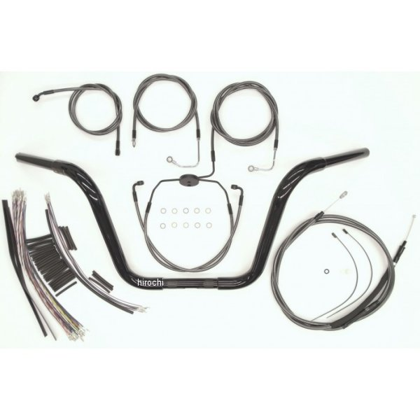 【USA在庫あり】 マグナム MAGNUM 1.25インチ ハンドルセット Ape 14インチ 08年-13年 FLH/C(ABS有り) 黒 0601-3692 JP店