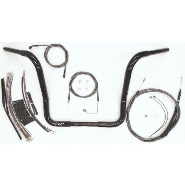【USA在庫あり】 マグナム MAGNUM 1.25インチ ハンドルセット Bagger 16インチ 08年-13年 FLH(ABS有り/再使用) 黒 0601-3711 JP店