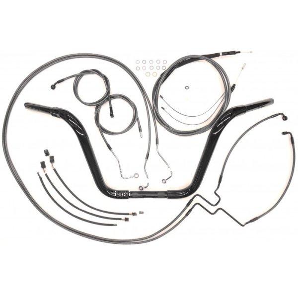 【USA在庫あり】 マグナム MAGNUM 1.25インチ ハンドルセット Ape 16インチ 16年 FLHR(ABS有り) 黒 0601-3723 JP店