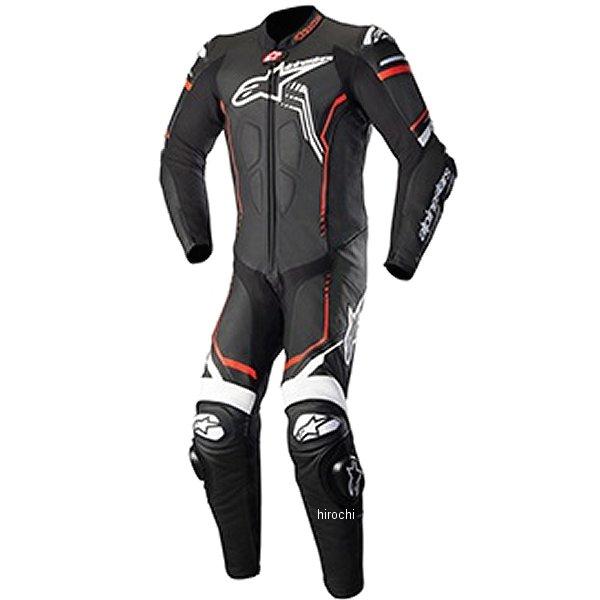 アルパインスターズ Alpinestars 秋冬モデル レザースーツ GP PLUS 2 黒/白/蛍光赤 52サイズ 8021506923169 JP店