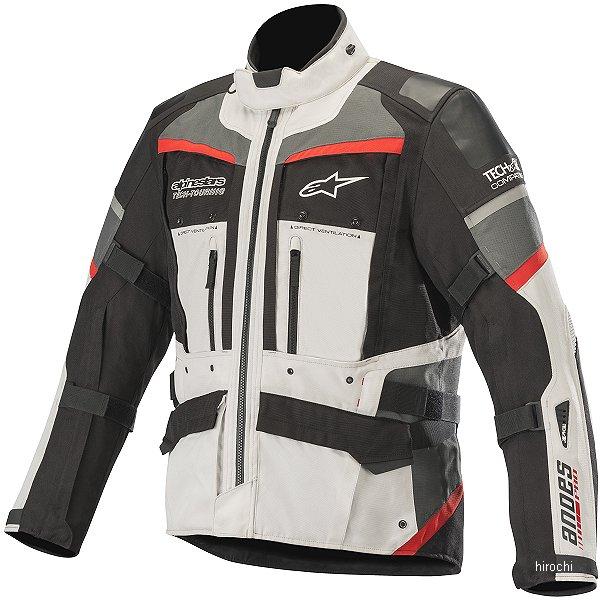 【メーカー在庫あり】 アルパインスターズ Alpinestars 秋冬モデル ジャケット ANDES PRO DRYSTAR TECH-AIR Lグレー/黒/Dグレー/赤 XL 8033637205182 JP店