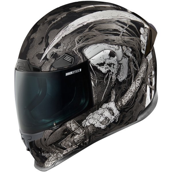 【USA在庫あり】 アイコン ICON フルフェイスヘルメット Airframe Pro Harbinger 黒 Lサイズ 0101-11264 JP店