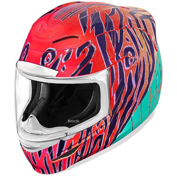 【USA在庫あり】 アイコン ICON フルフェイスヘルメット Airmada Wild Child オレンジ XSサイズ 0101-11302 JP店