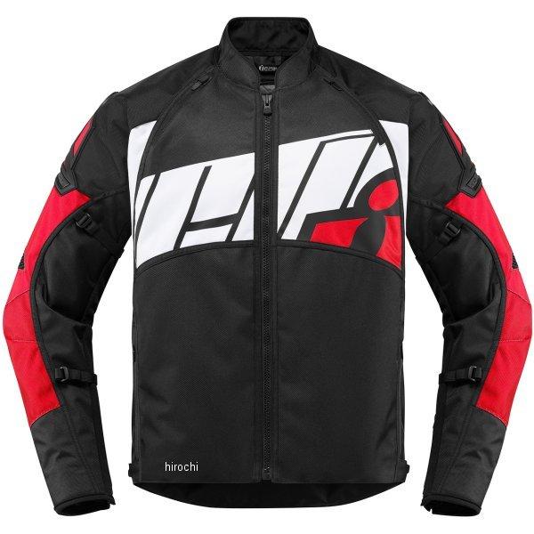【USA在庫あり】 アイコン ICON 2018年秋冬モデル ジャケット AUTOMAG 2 赤 2XLサイズ 2820-4529 JP店