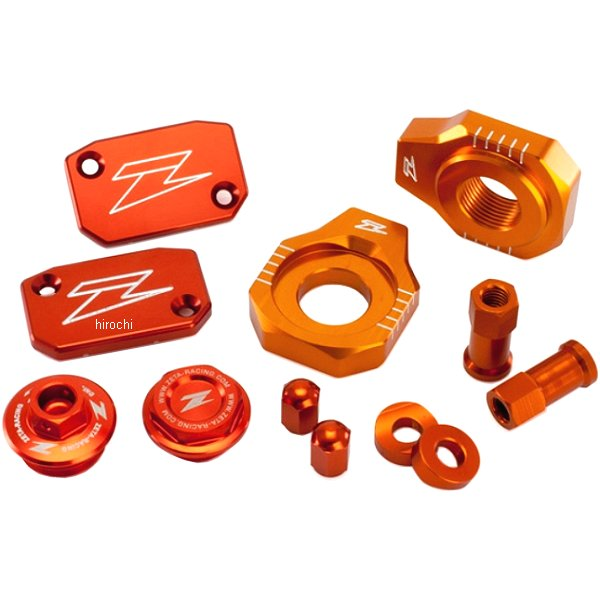 【メーカー在庫あり】 ジータ ZETA ビレットキット 13年以降 KTM オレンジ ZE51-2443 JP店