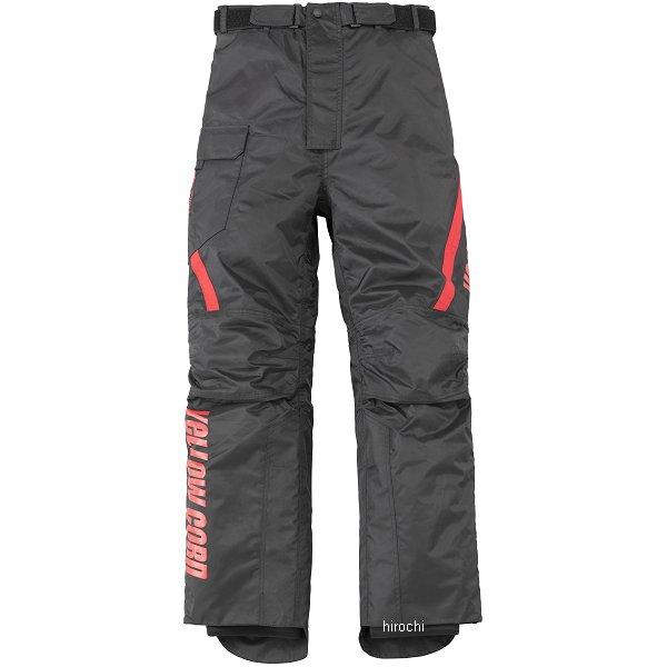 イエローコーン YeLLOW CORN 秋冬モデル オーバーパンツ 黒/赤 LLサイズ YP-8330 JP店