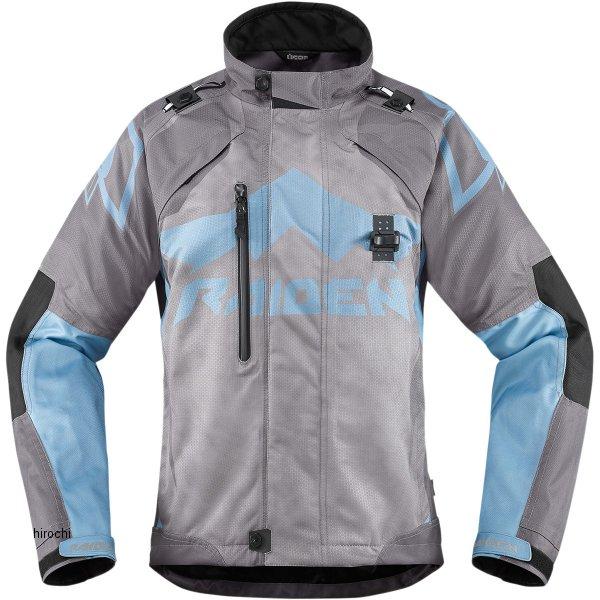 アイコン ICON ジャケット Raiden Dkr レディース チャコール Lサイズ 2822-0780 JP店