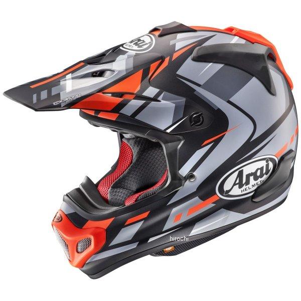【メーカー在庫あり】 アライ Arai オフロードヘルメット V-クロス4 ボーグル 赤(つや消し) Lサイズ(59cm-60cm) 4530935508785 JP店