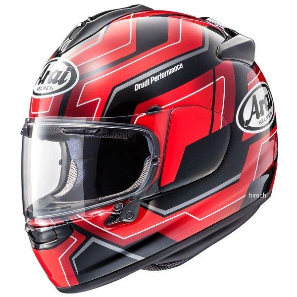 【メーカー在庫あり】 アライ Arai フルフェイスヘルメット ベクターX プレイス 赤 Lサイズ(59cm-60cm) 4530935500741 JP店