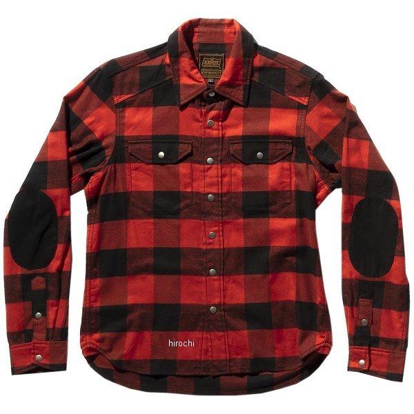 カドヤ KADOYA 秋冬モデル ワークシャツ RIDEWORKSHIRT WINTER 赤 LLサイズ 6240 JP店