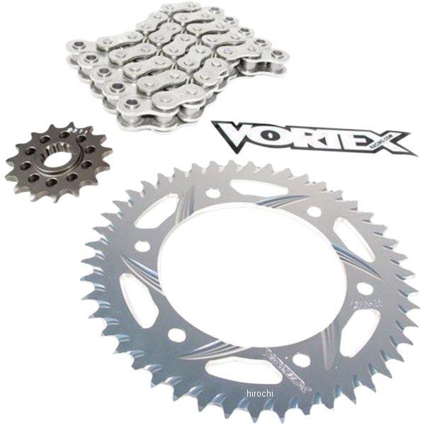 【USA在庫あり】 ボルテックス Vortex チェーン/スプロケットキット 520RX3/17T/43T 11年-16年 GSX-R750 1230-1100 JP店