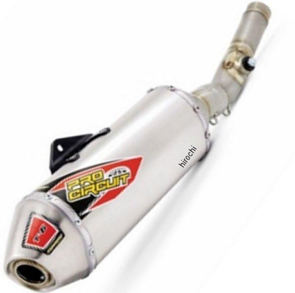 【USA在庫あり】 プロサーキット Pro Circuit スリップオンマフラー T-6 16年以降 RM-Z250 ステンレス 1821-1744 JP店