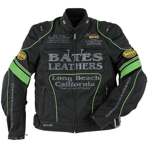 ベイツ BATES 秋冬モデル ナイロンジャケット 緑 Lサイズ BJ-NA1851RS JP店