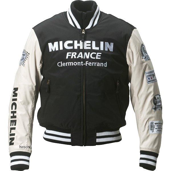 ミシュラン MICHELIN 2018年秋冬モデル スタジアムジャケット 黒/アイボリー XLサイズ ML18110W JP店
