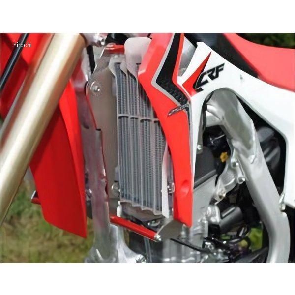 【メーカー在庫あり】 エーエックスピーレーシング AXP RACING ラジエターガード 13年 CRF250R 赤 AX1255