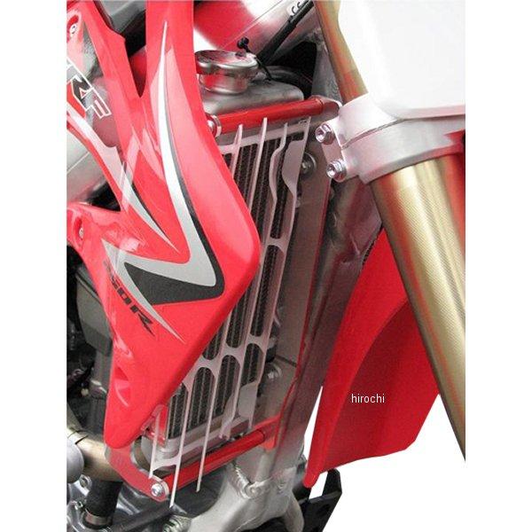 【メーカー在庫あり】 エーエックスピーレーシング AXP RACING ラジエターガード04年-09年 CRF250R 赤 AX3026