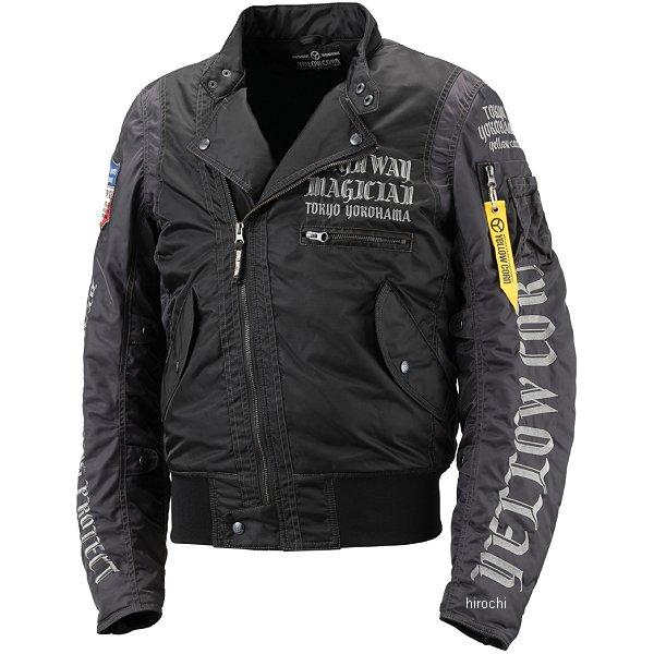 イエローコーン YeLLOW CORN 2018年秋冬モデル ウインタージャケット 黒 Lサイズ YB-8301 JP店